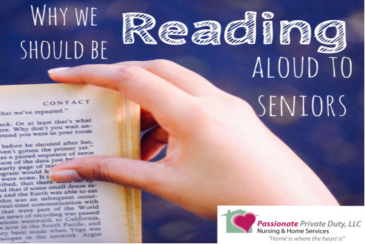 Reading Aloud to Elderly Loved Ones