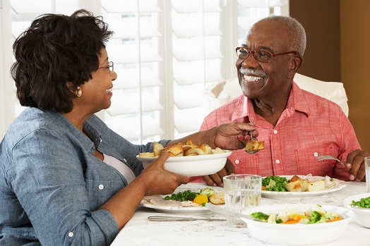 Senior Nutrition: What's on the Plate?